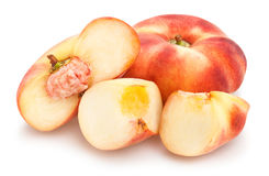 flat peach Royalty Free Stock Images
