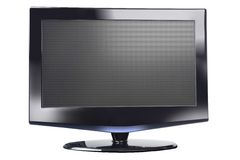 Flat Plasma Display Stock Images