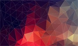 Flat plygonal abstract background Stock Images