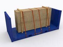 Flat Rack Container Stock Images