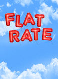 Flat rate Royalty Free Stock Photography