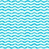 Flat rough waves pattern Stock Image