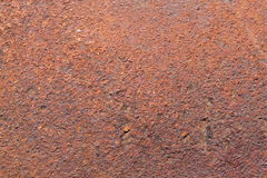 Flat rusty iron Royalty Free Stock Photography