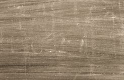 Flat scratched brown surface Royalty Free Stock Photos