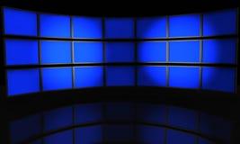Flat-screen vector illustratie