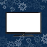 Flat screen Royalty Free Stock Images