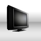 Flat screen. Monitor for a desktop computer Royalty Free Stock Photography