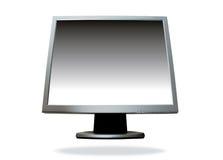 Flat screen computer Stock Photo
