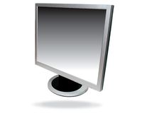 Flat screen computer Royalty Free Stock Photos