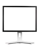 Flat screen monitor Royalty Free Stock Photos