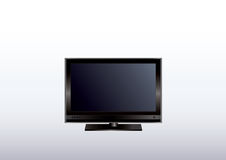 Flat screen monitor Stock Images