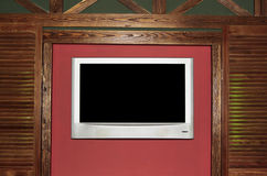 Flat Screen Television Stock Photo
