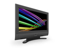 Flat screen TV Stock Images