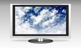 Flat screen tv Royalty Free Stock Photos