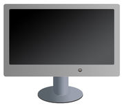 Flat screen tv/monitor Stock Images