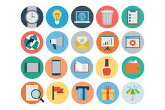 Flat Shopping and Commerce Vector Icons 2 Stock Photo