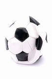 Flat soccer ball Stock Images