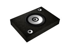Flat speaker  Royalty Free Stock Photography