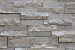 Flat stacked stone. The gray flat stacked stone tiles Royalty Free Stock Photos