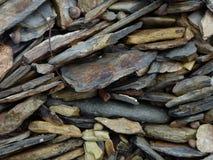 Flat Stone Mosaic Royalty Free Stock Images
