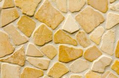 Flat stone wall background texture Royalty Free Stock Image