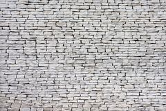 Flat stones wall. Big Flat stones wall background Royalty Free Stock Images