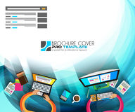 Flat Style Design Concepts for business strategy and career Royalty Free Stock Images