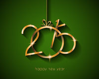 2015 flat style  new year modern background Stock Photo