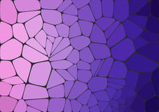 Flat Style. Violet mosaic abstract background. Colorful 2D mosaic abstract background - Illustration for web Stock Photo