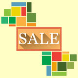 Flat Summer Sale Royalty Free Stock Images
