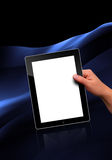 Flat tablet pc Royalty Free Stock Image