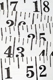 Flat Tailor Centimeter Royalty Free Stock Images
