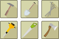 Flat tools icon Stock Photography