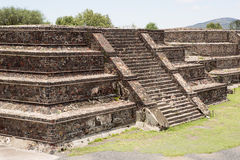 Flat top Aztec pyramid Stock Photos