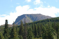 Flat Top Mountain Stock Photography