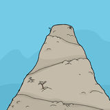 Flat Top Mountain Stock Image