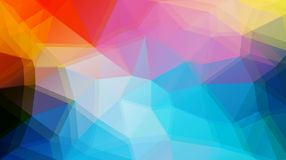 Flat triangle vector background Royalty Free Stock Images