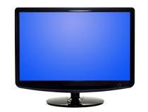Flat TV. Isolated on white background. Studio work Stock Image