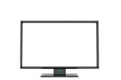 Flat tv display Stock Photography