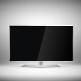 Flat Tv Stock Images