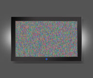 Flat TV Royalty Free Stock Image