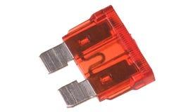 Flat Type Fuse Macro Isolated Royalty Free Stock Image