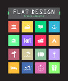 Flat ui icons Stock Photo