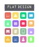 Flat ui icons Royalty Free Stock Image