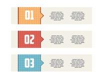 Flat UI Modern Style Minimalistic Banners Royalty Free Stock Image