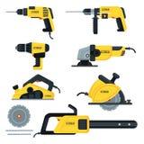 Power tools set vector illustration