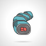 Flat vector icon for sushi Royalty Free Stock Images