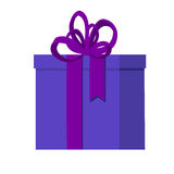 Flat vector illustration isolated with presents and gift boxes for holidays. Royalty Free Stock Photos