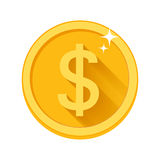 Flat vector money icon Stock Photos