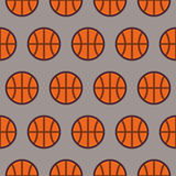 Flat Vector Seamless Sport and Recreation Pattern Basketball Royalty Free Stock Photos